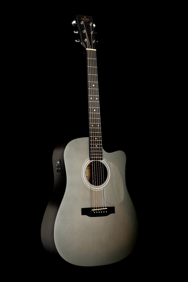 Sigma DMCE-BKB Dreadnought Acoustic Electric Guitar