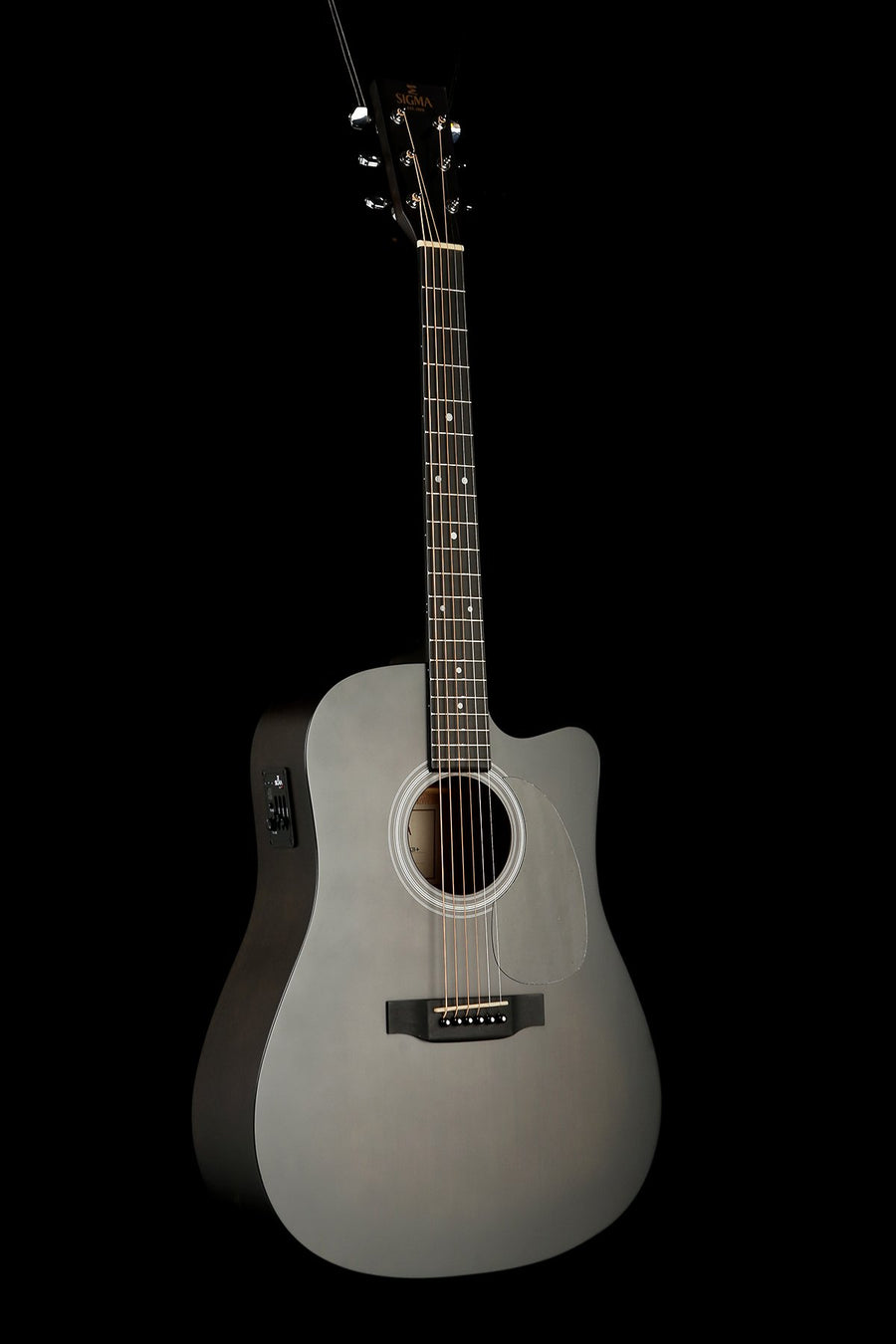 Sigma DMCE-BKBK Dreadnought Acoustic Electric Guitar