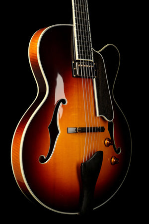 Eastman T146SM-SB Thinline Electric Archtop Electric Guitar