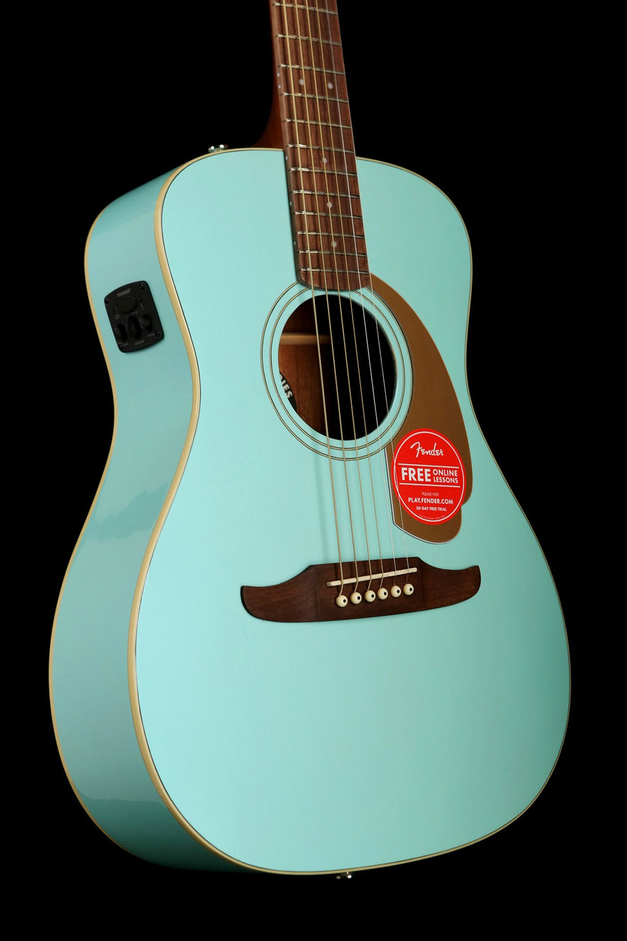 Fender California Player Malibu Acoustic Electric Guitar - acousticcentre