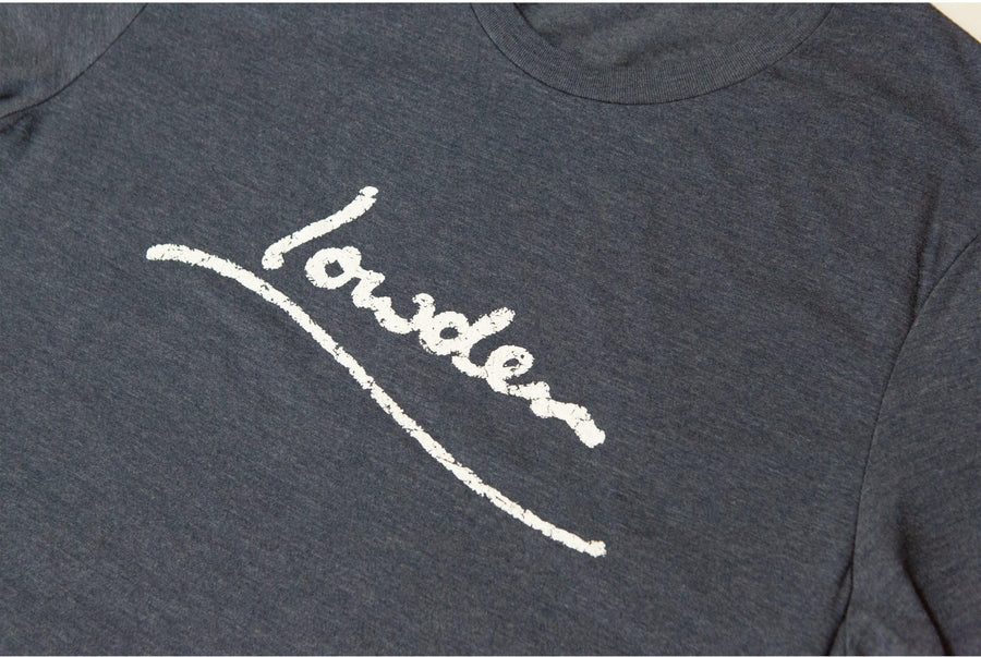 Lowden Distressed Logo T Shirt