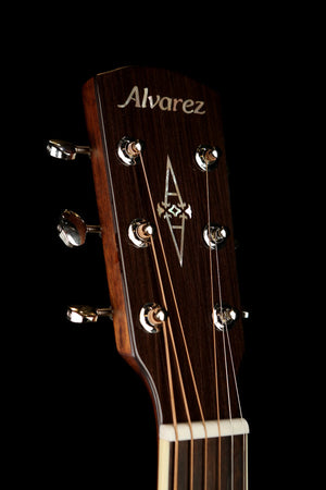 Alvarez MF60 OM Small Body Acoustic Electric Guitar