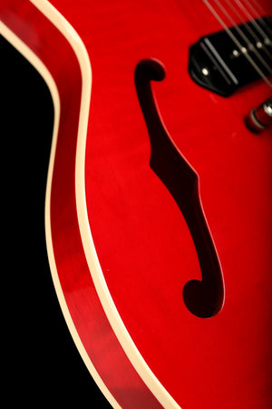 Heritage H-530 Translucent Cherry Electric Guitar