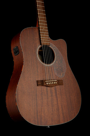 Fender CD-60SCE Mahogany Dreadnought Acoustic Electric Guitar