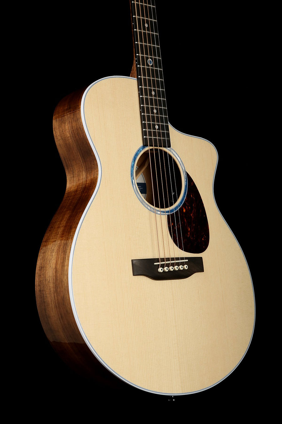 Martin SC-13E Acoustic Electric Guitar: Road Series