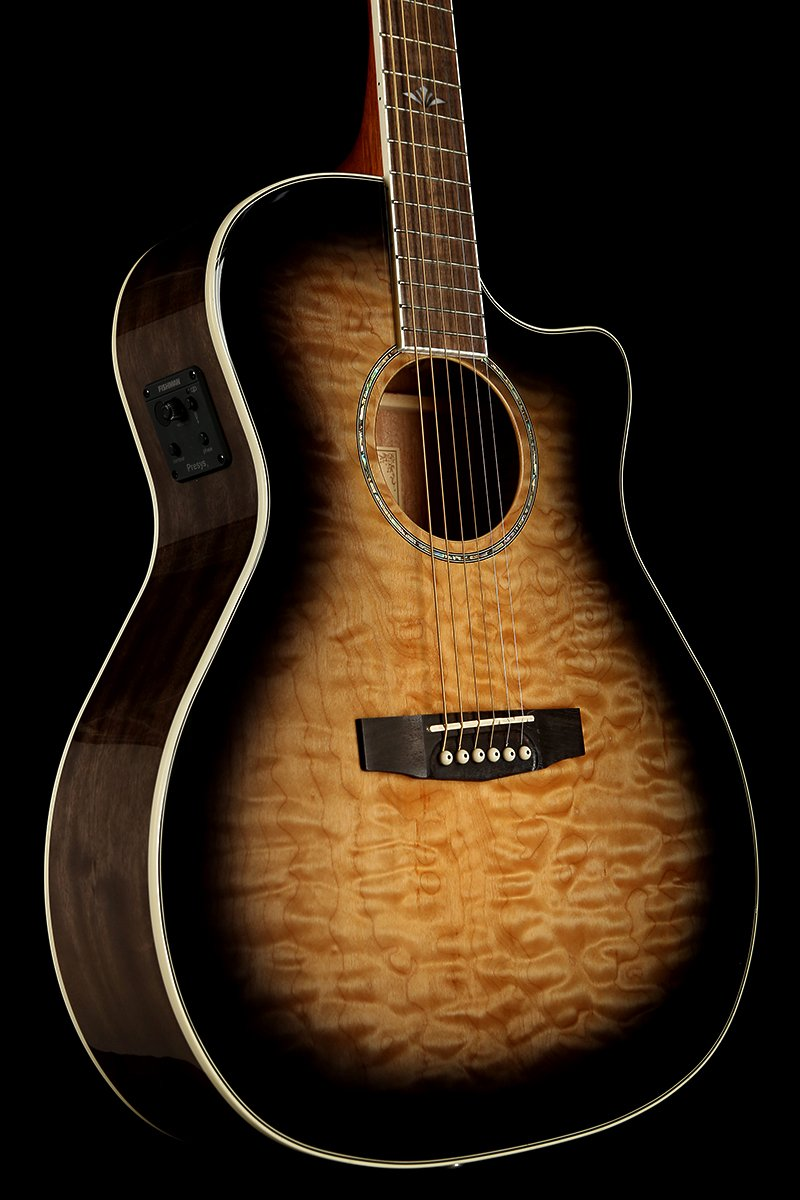 Cort GA Grand Regal 'Transparent' Acoustic Electric Guitar
