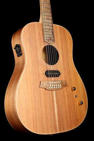 Cole Clark FL2E-12-BLBL-HUM 'Fat Lady' 12-String All-Blackwood With Humbucker