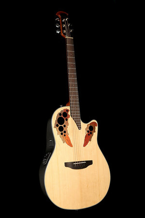 Ovation CE44-4 Celebrity Elite Mid Bowl 'Natural' Acoustic Electric Guitar