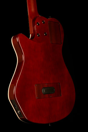Godin Multiac ACS Nylon SA Grand Concert 'Trans-Red Quilted Maple' HG Classical Electric Guitar