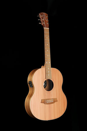 Cole Clark 'Little Lady' 2 Redwood / Blackwood Acoustic Electric Guitar - acousticcentre