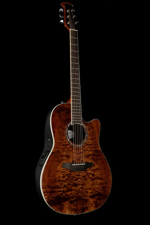 Ovation CS24P Nutmeg Burled Maple Celebrity Standard Plus Acoustic Guitar