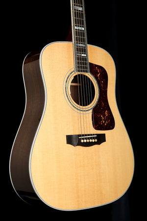 Guild D-55e Dreadnought Natural Acoustic Electric Guitar