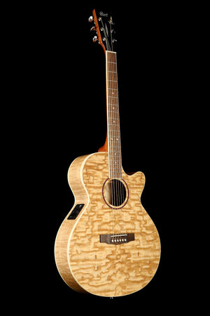 Cort SFX-AB Ash Burl Acoustic Electric Guitar