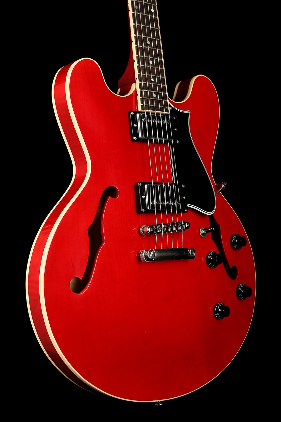 Heritage H-535 Translucent Cherry Electric Guitar