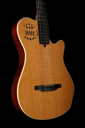 Godin G06025 Multiac SA Grand Concert Electric Classical Guitar - acousticcentre