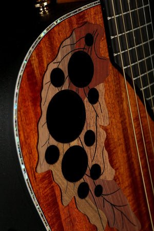 Ovation CE44P 'Natural Koa' Exotic Celebrity Elite Acoustic Guitar
