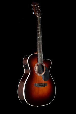 Sigma OMTC Sunburst Small Body Acoustic Electric Guitar