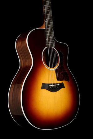 Taylor 214ce DLX Sunburst Acoustic Electric Guitar