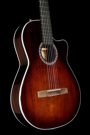 La Patrie Arena Pro CW 'Burnt Umber' Classical Electric Guitar