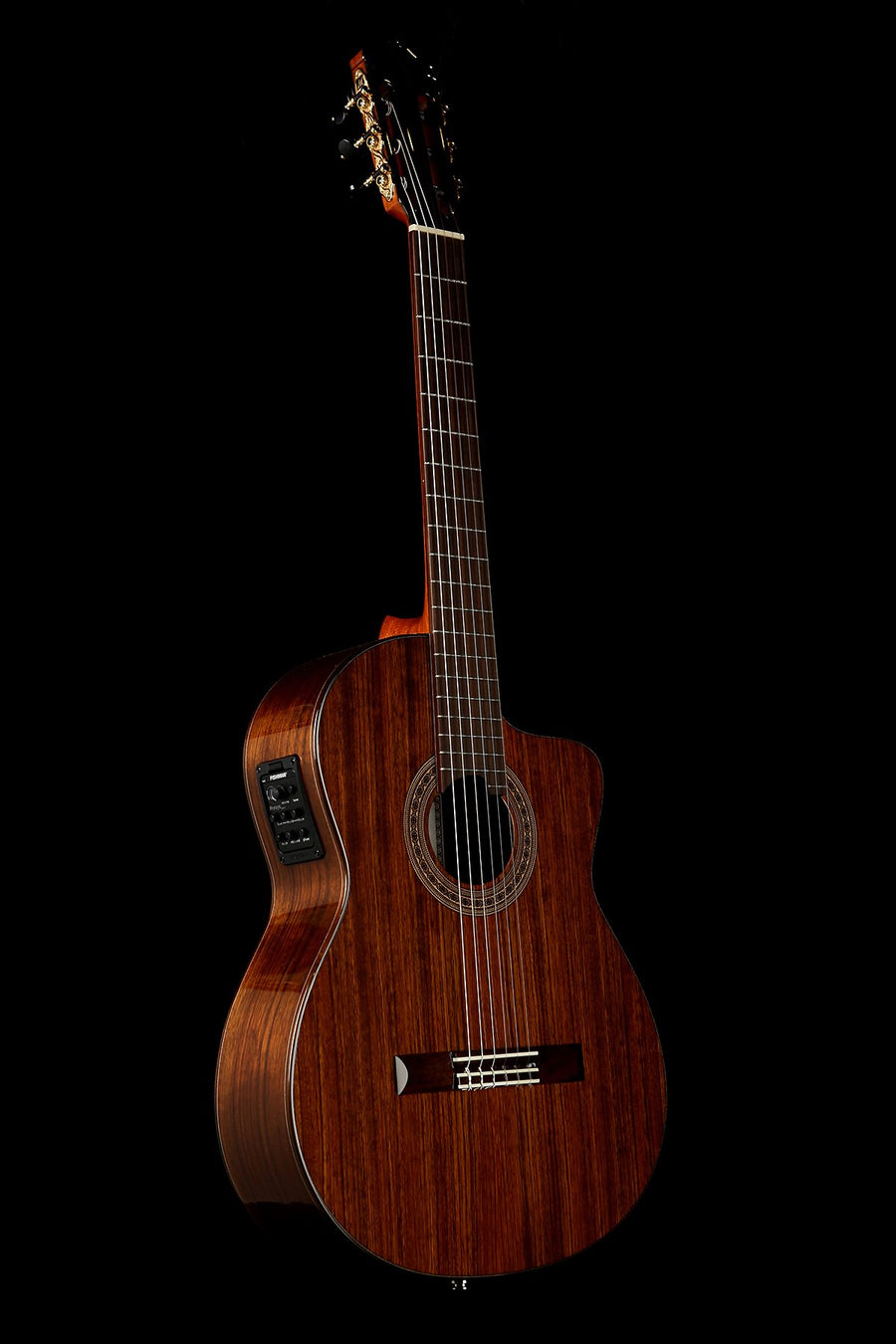 Katoh MCG115O CEQ Ovangkol Classical Electric Guitar