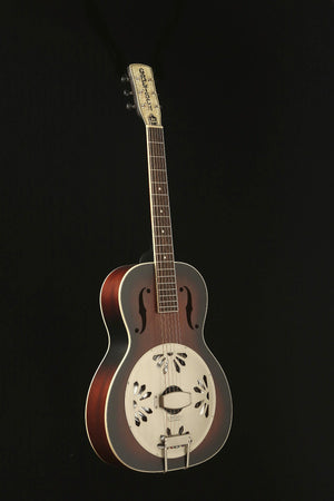 Gretsch G9241 Alligator Biscuit Electric Acoustic Resonator Guitar - acousticcentre