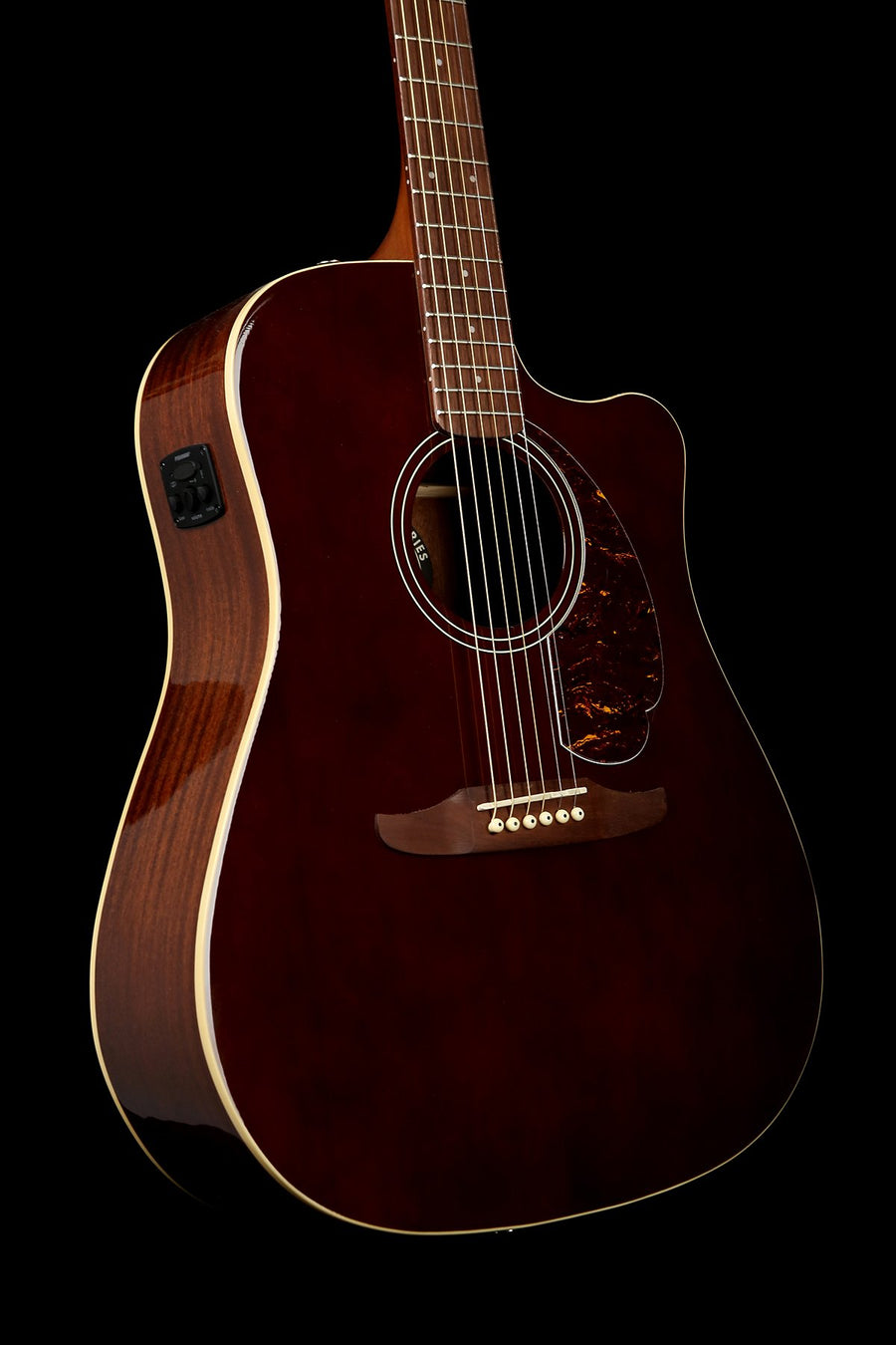 Fender California Player Redondo Walnut Dreadnought Acoustic Electric Guitar