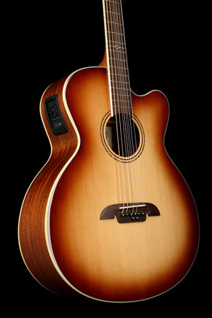 Alvarez Artist Baritone 8-String Shadow Burst Acoustic Electric Guitar