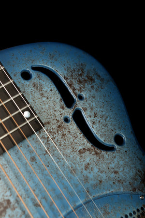 National NRP 'Barnyard Blue' Steel Resonator