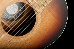 Cole Clark 'Little Lady' 2E  Blackwood / Blackwood Custom Burst Acoustic Electric Guitar - acousticcentre