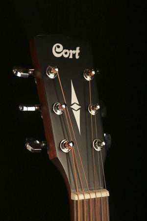 Cort SFX-MEM Mahogany Acoustic Electric Guitar - acousticcentre
