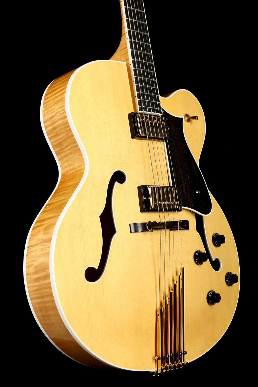 Heritage Eagle Classic Natural Archtop Electric Guitar