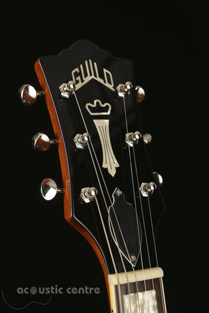 Guild X-175B Manhattan with Bigsby, Blonde Acoustic Guitar - acousticcentre