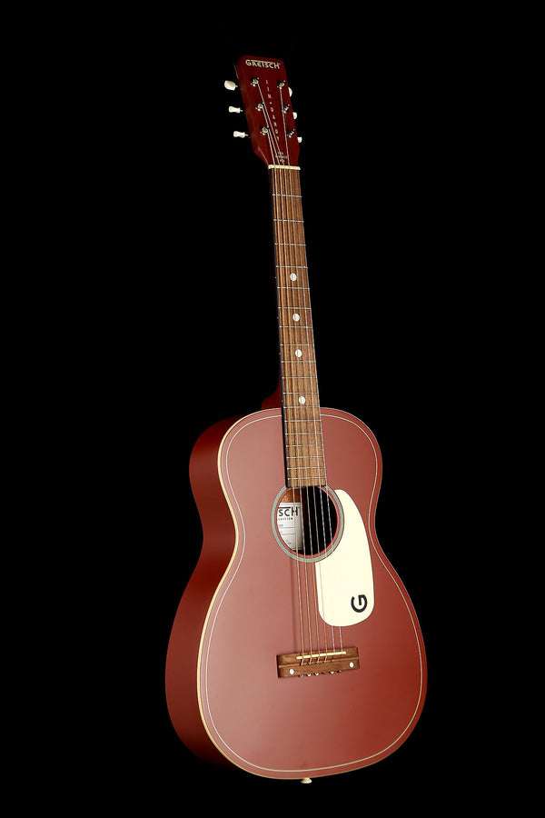 Gretsch Jim Dandy 'Limited Oxblood' Parlour Acoustic Guitar
