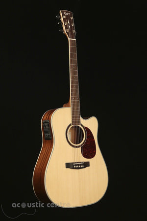 Cort MR730FX Solid Mahogany Acoustic Electric Guitar - acousticcentre