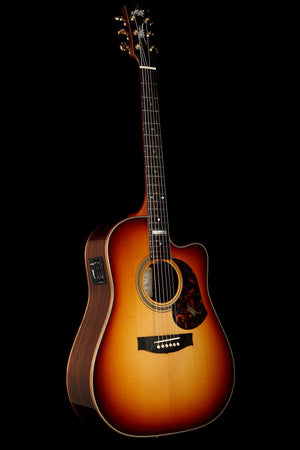 Maton EM100C Messiah Custom Sunburst Acoustic Electric Guitar