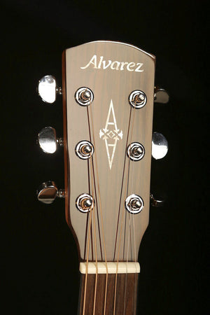 Alvarez AF66ce Small Body Acoustic Electric Guitar - acousticcentre