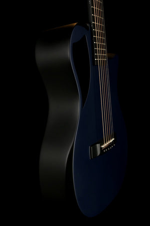 Journey Instruments OF660B1M Carbon Blue Matte Collapsible Acoustic Electric Guitar