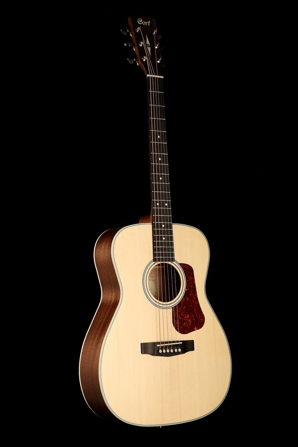 Cort L100C Natural Satin Grand Concert Acoustic Guitar
