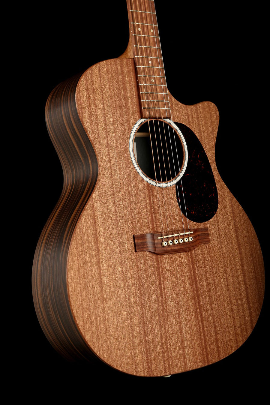 Martin GPC-X2E Macassar Acoustic Electric Guitar: X Series