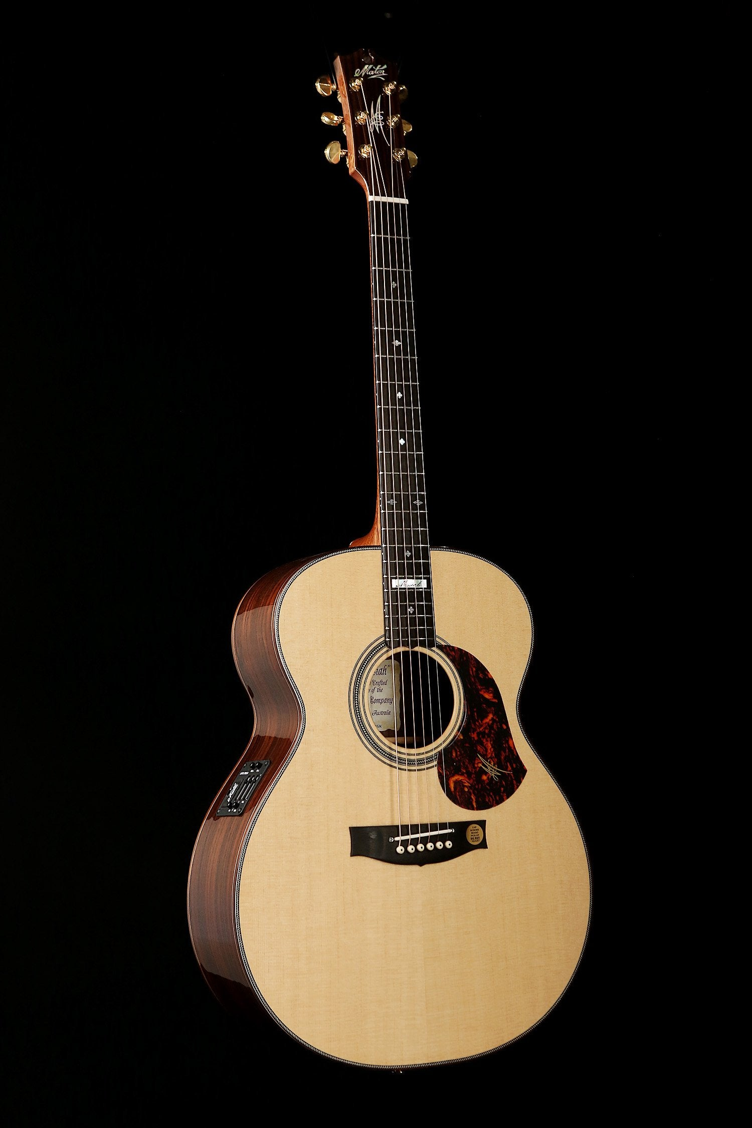 The Acoustic Guitar Specialists Maton Martin Taylor Collings Pickup Microphone Wire Amplifier Speaker For Black Em100j Messiah Jumbo
