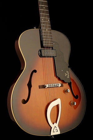 Guild T-50 Slim Sunburst Non cut Thin body Archtop guitar - acousticcentre