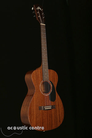 Guild M-120E Natural Mahogany Acoustic Guitar - acousticcentre