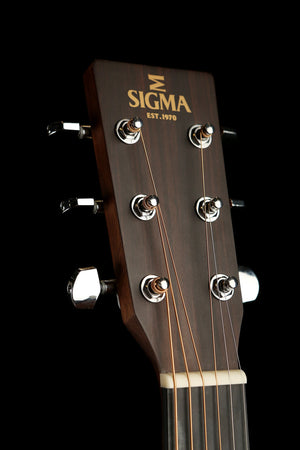 Sigma 000MC-1E Small Body Acoustic Electric Guitar