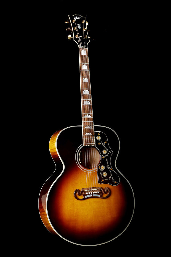 Gibson SJ-200 Vintage Sunburst Acoustic Electric Guitar - acousticcentre
