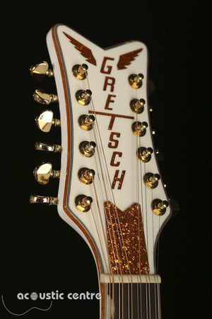 Gretsch Rancher White Falcon 12-String G-5022CWFE - acousticcentre