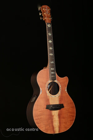 Cole Clark Angel AN3EC-Redwood Rosewood Acoustic Guitar - acousticcentre
