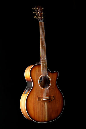 Cole Clark 'Angel' AN2EC Blackwood / Blackwood Sunburst