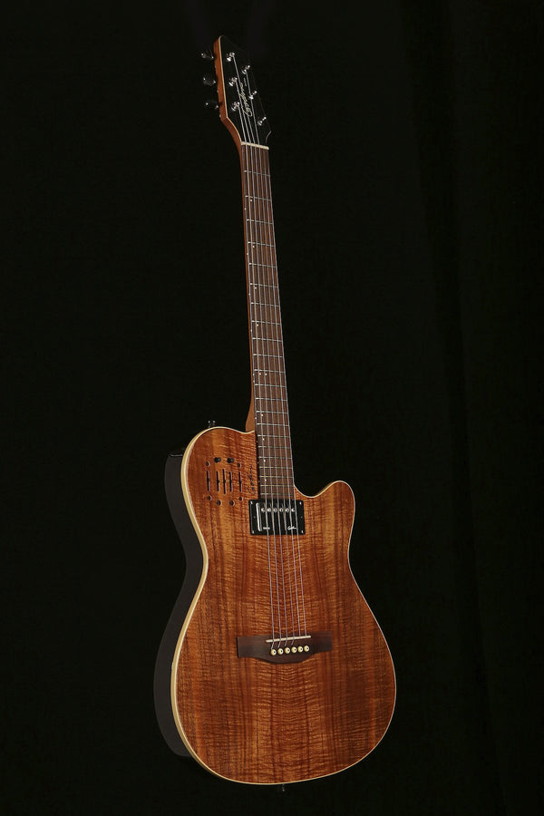 Godin A6 Ultra Koa Limited Acoustic Electric Guitar - acousticcentre