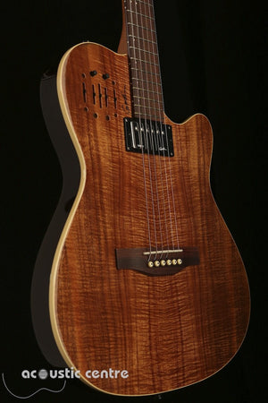 Godin A6 Ultra Koa Limited Acoustic Guitar - acousticcentre