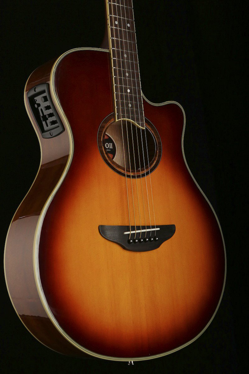 Yamaha APX700 II Brown Sunburst Acoustic Guitar - acousticcentre